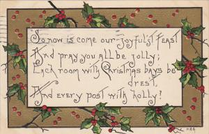 Griggs Joyful Feast On Christmas Day 1912