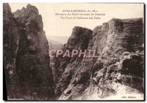Old Postcard Guillaumes Guillaumes and Gorges Daluis