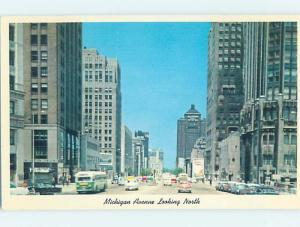 Pre-1980 STREET SCENE Chicago Illinois IL W1181