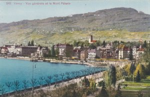 Switzerland Vevey General View and Mont Pelerin sk3697