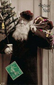 Merry Christmas - Santa Claus RPPC 04.35