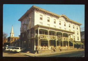 Lambertville, New Jersey/NJ Postcard, The Lambertville House, 1960's Thunderbird