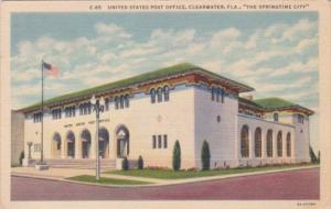 Florida Clearwater Post Office 1941 Curteich