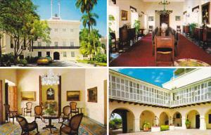 Puerto Rico San Juan Executive Mansion La Fortaaleza Multi View
