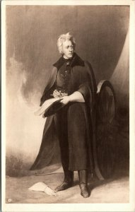 Vtg Andrew Jackson Thomas Sully Corcoran Gallery of Art RPPC Real Photo Postcard