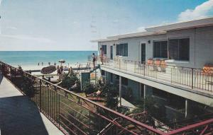 Exterior,  Treasure Shores Motel Apartments,  St. Petersburg,  Florida,  PU_1955