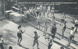 Volley Ball At Loch Leven Christian Conference Camp Mountain Home Canyon Cali...