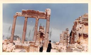 Baalbek, Lebanon Postcard, Carte Postale Sacrificial Courtyard Baalbek Sacrif...