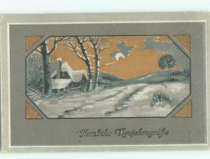 Divided-Back GREAT SCENE Greeting Postcard AA6951