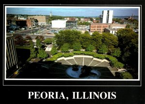 Illinois Peoria Panoramic View