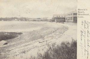 WOODMONT , Ct. , 1907 ; Merwin's Beach