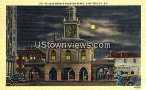Ye Olde Market house by Night Fayetteville NC Unused