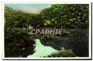 Old Postcard Tonkin Province Bac Kan Lakes Babe Vietnam