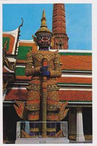 Thailand Bangkok Great Ginat in Emerald Budda Temple
