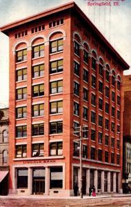 Illinois Springfield The Ferguson Building 1908