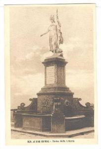 Statua Della Liberta, Repubblica Di S. Marino, 1900-1910s