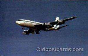 United Airlines Boeing 720 Airplane, Aviation, Unused