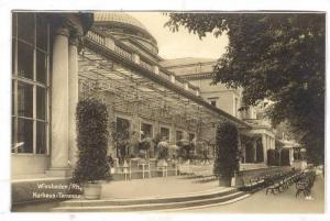 RP: Wiesbaden/Rh., Kurhaus-Terrasse , Germany , 1910s