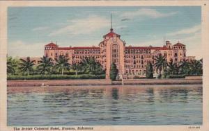 Bahamas Nassau The British Colonial Hotel 1951 Curteich