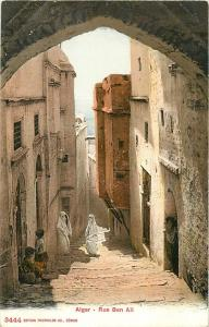 Algeria Alger Rue Ben Ali street view