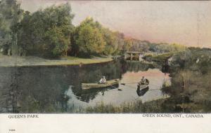 OWEN SOUND , Ontario , 1907 ; Queen's Park
