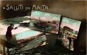 CPA AK MALTA-Saluti da Malta (320195)