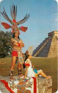 Maya-Toltec Indians Chichen Itza Yucatan Mexico Postcard