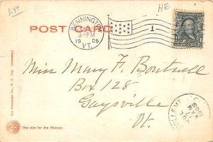 Nantucket Steamboat Line Ferry Ship 1905