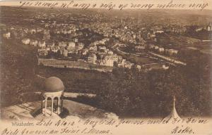 Aerial View of Weisbaden, Hesse, Germany, PU-1904