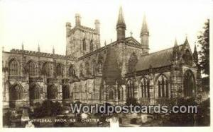 United Kingdom, UK, England, Great Britain Cathedral SE Chester SE Chester Ca...