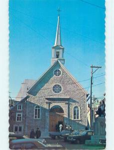Unused Pre-1980 TOWN VIEW SCENE Quebec City QC p9103-13