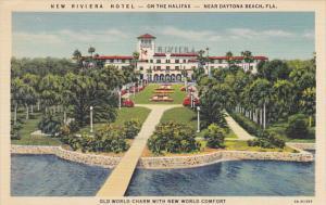 Riviera Hotel Daytona Beach Florida Curteich