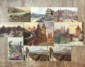 Czech Republic - Postcard Lot of 20 Printed Part Six  - 01.02