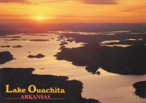 Arkansas Hot Springs Sunset On Lake Quachita