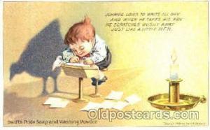 Swift's Pride Soap & Washing Powder, Advertising Postcard Post Card  Swift's ...