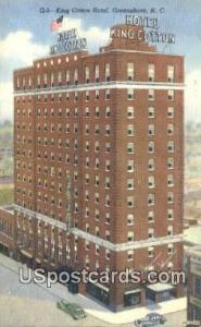 King Cotton Hotel Greensboro NC Unused