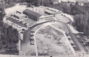 Aerial view,  Friends Meeting House, High Point,  North Carolina,  PU_1959