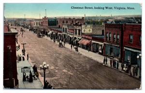 1912 Chestnut St, Ormonde Hotel, Knife River Saloon, Virginia, MN Postcard