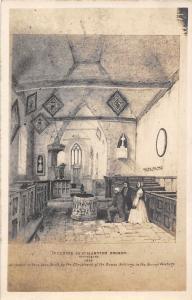 England Canterbury Interior of St. Martin's Church