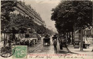 CPA PARIS (6e) Boulevard Saint-Germain. pris de la Rue des Saints-Peres (535481)