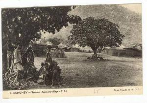 Savalou:Coin De Village,Dahomey,Africa,19 00-10s