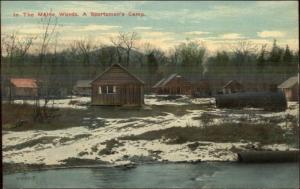 Maine Woods Sporting Camp Old Tanks Somewhere Up North or Rangeley? PC