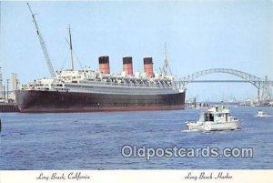 Long Beach Harbor Long Beach, CA Ship Unused