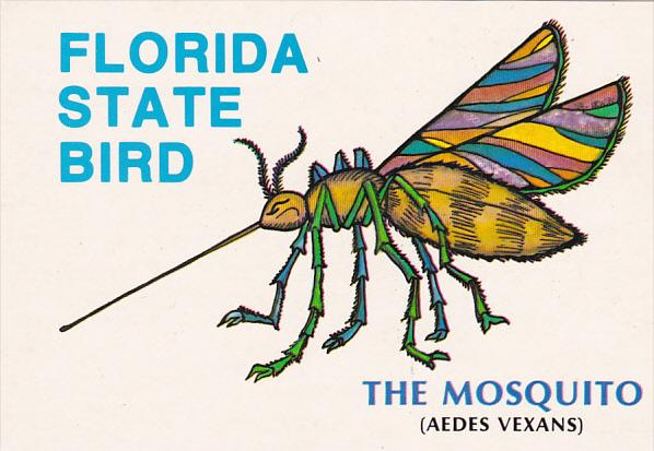 Humor Florida State Bird The Mosquito