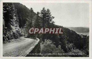 Old Postcard Hauteville-Lompnes Route du Col de la Pierre Taillee