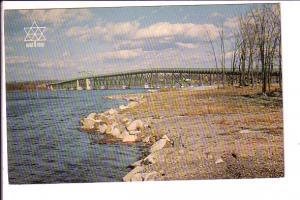 Perley Interprovincial Bridge Over Ottawa River, Hawkesbury, Ontario, Expo '6...