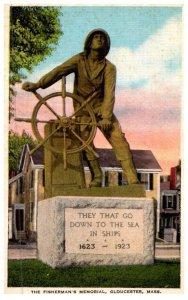 Massachusetts  Gloucester , Fisherman's Memorial