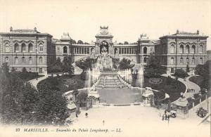 BR92963 marseille ensemble du palais longchamp  france