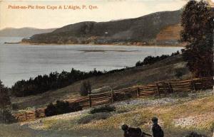 9323  Quebec  Point-au-Pic from Cape A L'Aigle