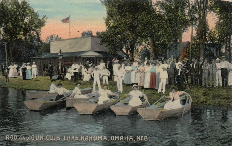 OMAHA, Nebraska, 00-10s ; Rod & Gun Club , Lake Nakoma